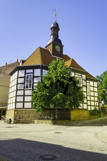 Konzerthalle in St. Georg, Bad Freienwalde, Brandenburg, Deutschland