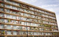 Parisians flower gardens and front garden on balconies
