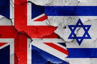 flags of UK and Israel