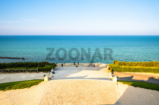 view from the monument to the fallen of Ancona, Italy