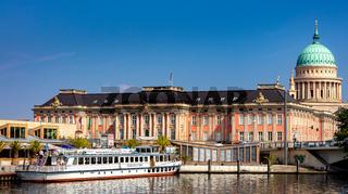Der Hafen in Potsdam