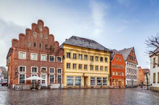 Historical market square, Warendorf, Germany