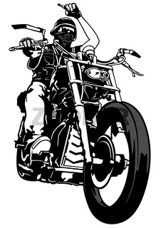Motorcyclist From Gang