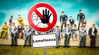 Street Sign Partner versus Loneliness