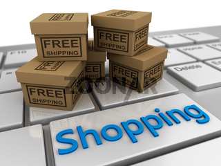 boxes free shipping, on the keyboard shopping