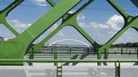 Alte Eisenbrücke in Bratislava