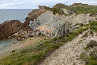 Steilküste in Nordspanien