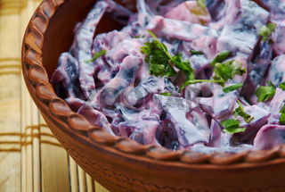 Polish Fried Red Cabbage with Apples