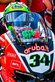 Davide Giugliano pilot of Superbikes SBK