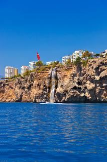 View to Antalya Turkey