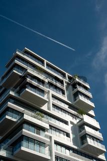 Berlin, Deutschland, Wohn-Hochhaus Living Levels in Friedrichshain