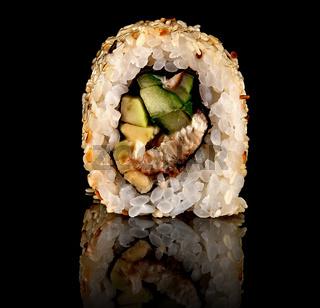Single sushi roll california