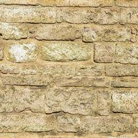 Brick yellow wall texture background