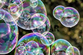 Soap bubbles