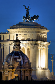 Rear view of the Altare della Patria