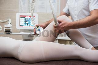 Procedure laser lipolysis