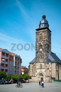 Margarethenkirche auf dem Neumarkt in Gotha