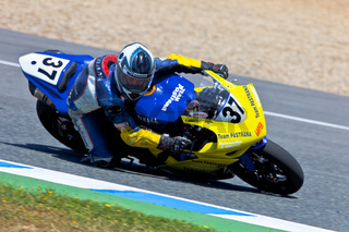 Jorge Arroyo pilot of Stock Extreme of the CEV Championship