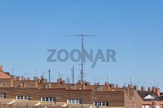 Ham radio HF antenna system
