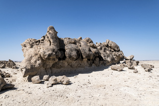 Rock Garden (also called Rock Zoo of Duqm) is a famous tourist attraction , Duqm, Sultanate of Oman