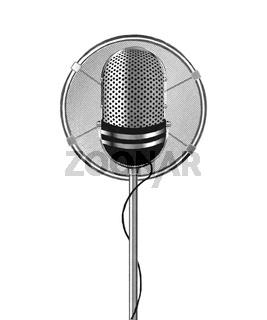 Watercolor microphone