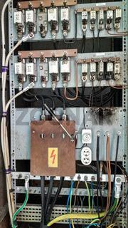 alte DDR Schaltanlage