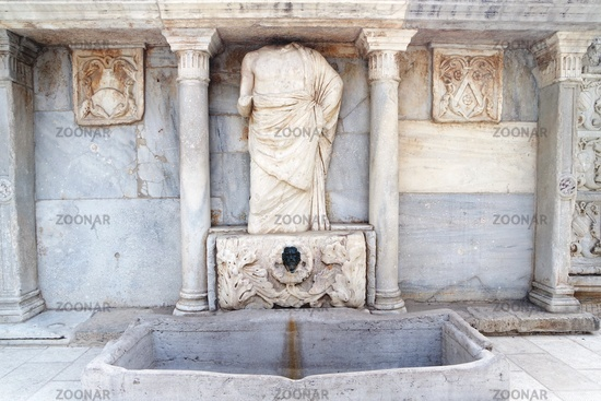 Bembo-Brunnen in Heraklion, Kreta
