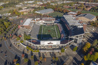 Aerial Views Of Reser Stadium On The Campus Of Oregon State University