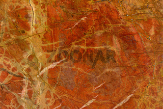 Real natural ' Rosso Damasco '  texture pattern.
