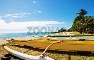 Hawaiian boats