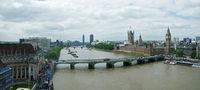 Aussicht auf die Themse und den