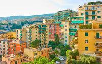 Residential buildings in Genoa
