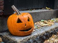 Scary Halloween Pumpkin Face