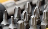 Screwdriver metal bits set
