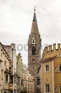 Altstadt Brixen, Italien, old town in Brixen, Italy