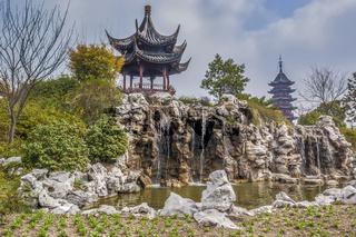 Ruiguang Pagoda, Panmen Gate, Suzhou,  China