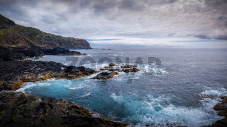 Küstenregion im westen von Sao Miguel auf den Azoren