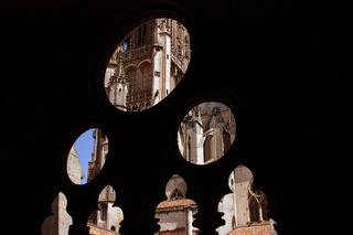 Kreuzgang, Kathedrale Saint Etienne, Toul, Frankreich