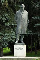 Denkmal von Jan Neruda in Prag