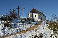 Salmendinger Kapelle auf dem Kornbühl,  Schwäbische Alb