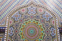 seamless pattern, photo as background