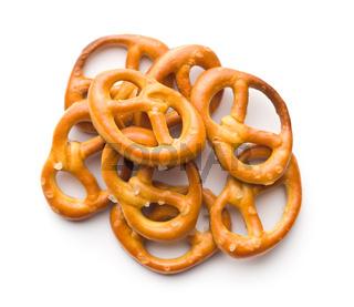 Tasty salty pretzels.