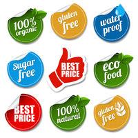 Product Labels Set