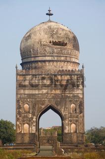 Tomb of Ali Barid Shah, Bidar, Karnataka state of India