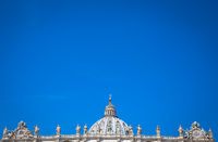 Saint Peter Basilica Dome in Vatican