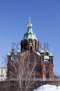 Uspenski Orthodox Church in Helsinki