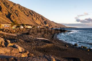 El Remo beim Sonnenuntergang, La Palma, Kanarische Insel, Spanien