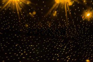 a flock of lights