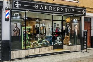 Barbershop Cadiz, Andalucia, Spain