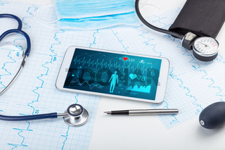Direct diagnosis with medical application